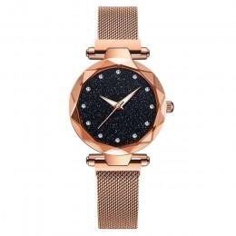 Luksusowe kobiety zegarki damskie magnetyczne Starry Sky zegar moda diament kobiet zegarki kwarcowe relogio feminino zegarek dam