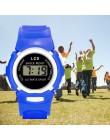 Gorący zegarek dla dzieci dla dzieci chłopcy życie wodoodporny cyfrowy zegarek sportowy LED dzieci Alarm zegarek z datownikiem p