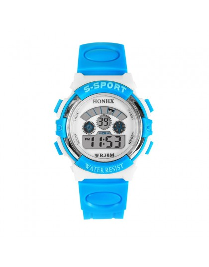 Aimecor 2018 nowy wodoodporny sport dzieci dziewczyny chłopcy LED cyfrowy kwarcowy Alarm data Kid Wrist Watch Dropshipping