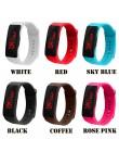 Zegarek dla dzieci LED cyfrowy wyświetlacz bransoletka zegarek chłopięcy dla dzieci studenci żel krzemionkowy sportowy zegarek r