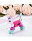 Cartoon bransoletka DIY Charm sukienka zegar kwarcowy dziewczyny moda kot pies cyfrowy luksusowy kolorowy zegarek Creaive prezen