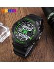 SKMEI dzieci zegarki moda sportowa LED cyfrowy zegarek kwarcowy chłopcy dziewczęta dzieci zegarek zegarki wodoodporne Kid zegar