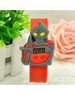 Kolorowe śliczne dzieci Slap zegarki dzieci bajkowy zegarek silikonowy pasek zegarek na rękę chłopcy dziewczęta prezent na boże