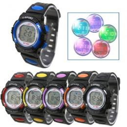 Girl Boy LED Light Wrist Watch Alarm data cyfrowa wielofunkcyjna sukienka sportowa zegarek prezenty dla dzieci dzieci zegar spor