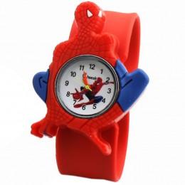 Hurtownie 2018 nowy zegar dla dzieci student dzieci chłopiec spider-man zegarki mężczyźni silikonowy bajkowy zegarek relogio mas
