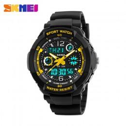 SKMEI dzieci sport zegarki moda LED cyfrowy zegarek kwarcowy chłopcy dziewczęta dzieci 50M zegarki wodoodporne 1060