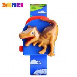 SKMEI dzieci oglądają Cute kreskówki dla dzieci kreatywny dinozaur modelu chłopców i dziewcząt dla dzieci zegarki sportowe cyfro