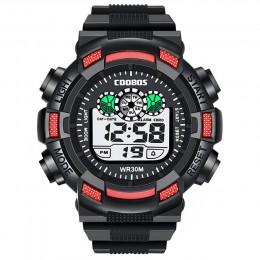 Sportowe dla dzieci elektroniczny zegarek wodoodporny cyfrowe zegarki na rękę dla dzieci dziewczyny chłopcy świecące LED relogio