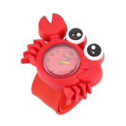 W nowym stylu Cute Animal 3D Cartoon pasek silikonowy bransoletka zegarek na rękę dla dzieci zabawki zegar dla fajnych dziewcząt