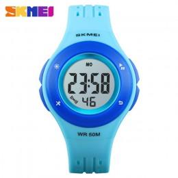 SKMEI zegarek dla dzieci LED styl sportowy dla dzieci zegarki dla chłopców modny zegarek cyfrowy 5Bar wodoodporny zegarek montre