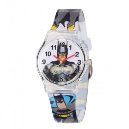 Prezent dla dzieci Batman Spider-man zegarek dla dzieci Sport Watch Student zegar gumowe chłopcy dziewczęta zabawki dla dzieci z
