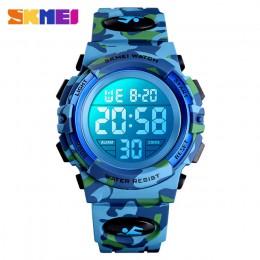2019 SKMEI Boys Girls cyfrowy zegarek elektroniczny Outdoor Military Sport zegarki zegar 50M zegarek wodoodporny dla dzieci dzie