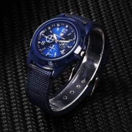 Opaska nylonowa wojskowy zegarka kobiet zegarki Gemius armii zegarek na rękę zegarek kwarcowy Men sport zegarki Relojes Para Hom