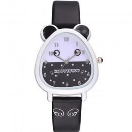 Nowe urocze zwierzę projekt chłopiec dziewczyna zegarek kwarcowy dla dzieci prezent urodzinowy dla dziecka Kol Saati Horloge Kin