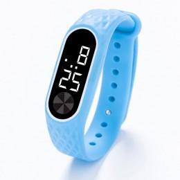 Leecnuo elektroniczny zegarek led sportowy zegarek dla dzieci proste zegarki dla dzieci stylowa prostota zegarek na prezenty dla
