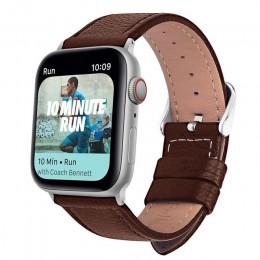 Eastar 3 kolor gorący bubel skórzany pasek do zegarków na pasek do apple watch seria 5/3/2/1 bransoletka sportowa 42 mm 38 mm pa