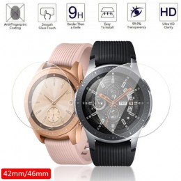 2 sztuk ochronne szkło hartowane na ekran do Samsung Galaxy Watch 46mm 42mm ochronna folia na ekran anty wybuchu straży Watch Ba