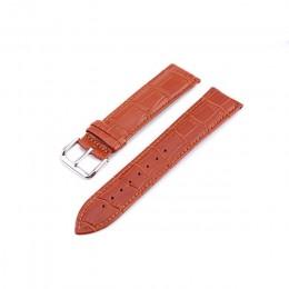 UTHAI Z08 paski do zegarków paski z prawdziwej skóry 10-24mm akcesoria do zegarków wysokiej jakości brązowe kolory od zegarków