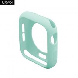 URVOI Candy etui z TPU dla apple watch series 5 4 3 2 1 kolorowe pokrycie protector dla iWatch 38 42 40 44mm fit ultra-cienka ra