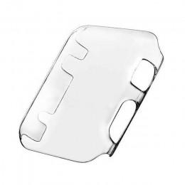 Pokrowiec na zegarek PC futerał ochronny na Apple Watch 5 4 3 2 1 42MM 38MM przezroczysty z TPU na ekran do iWatch 44MM 40MM peł