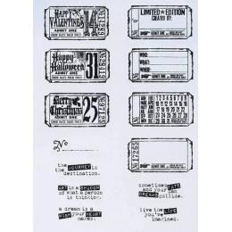 Znaczek pocztowy wyczyść pieczęć do scrapbookingu przezroczysta guma silikonowa DIY dekoracja do albumu na zdjęcia 1010