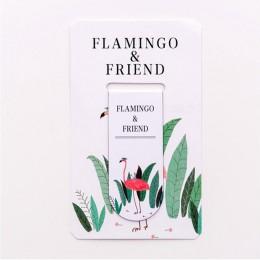 1pc Kawaii Flamingo magnes zakładka wielofunkcyjne konto ręczne klasyfikacja zakładki dzieci prezenty materiały biurowe