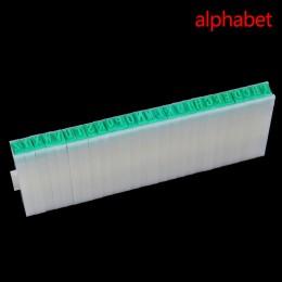 Papier do majsterkowania praca pamiętnik alfabet znaczek Ablum ślub stempel z literą numer Symbol pieczęć rozdział kombinacja dr
