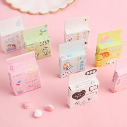 40 sztuk/paczka Kawaii wzór kwiatowy Decoracion pamiętnik naklejki świąteczne Scrapbooking papiernicze naklejki materiały dla st