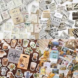 45 sztuk/pudło naklejki papiernicze Vintage pieczęć etykieta uszczelniająca podróży naklejki dekoracje Scrapbooking pamiętnik al