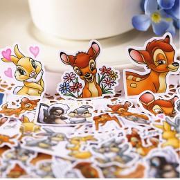 40 sztuk kreatywnych śliczne samoprzylepne słodkie jelenie Bambi naklejki/naklejki do scrapbookingu/dekoracyjna naklejka/DIY Cra