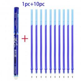 Studenci używają magiczne zmazywalne pióro i napełnianie niebieski wymienny długopis piśmiennicze pióro żelowe 0.5 Mm list pióro