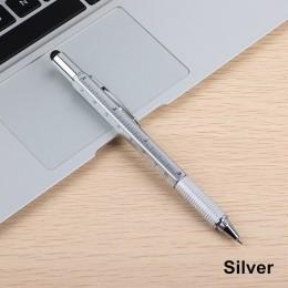 3 sztuk 7 kolorów powieść wielofunkcyjny śrubokręt długopis ekran dotykowy metalowy prezent narzędzie szkolne materiały biurowe