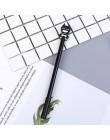 Śliczne 0.5mm superbohater spiderman kapitan ameryka Iron Man długopisy żelowe uczeń do podpisywania się długopisy koreańskie pi