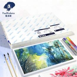 Rubens profesjonalne 50% bawełna 300g/m2 akwarela papier 10 arkuszy 32 k/16 k/8 k /4k kolor wody papier do do rysowania artystyc