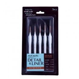 5 sztuk/zestaw łasica włosów hak linii pędzelek do zdobień akwarela miękki olejek do włosów malowanie bardzo delikatna ręka malo