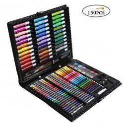 150/176 sztuk malowanie zestaw do rysowania kredka kredki akwarele długopisy dla dzieci dzieci Student artysta zestaw artystyczn
