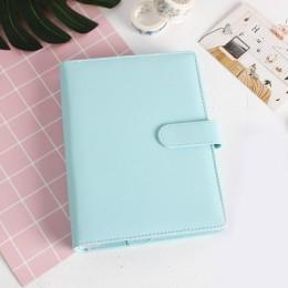 Macarons PU Notebook organizator Planner Ring Binder terminarz tygodniowy Planner/dzienniczek Bullet notatnik Kawaii