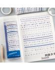20 sztuk/paczka wielobarwne taśmy Washi Scrapbooking klej dekoracyjny taśmy papierowe japońskie naklejki papiernicze