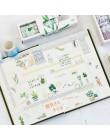 5 sztuk/pudło piękna kwiatowa taśma washi DIY dekoracji Scrapbooking Planner taśma klejąca taśma klejąca naklejki etykiety mater