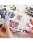 1 sztuk Vintage taśma Washi spadek Film taśma maskująca pamiętnik Diy Scrapbooking Bullet Journal Diary papiernicze szkolne mate