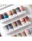 10 sztuk/paczka Vintage styl angielski taśmy Washi Diy dekoracji Scrapbooking planowanie taśmy maskujące naklejki etykiety mater