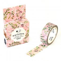 1 sztuk DIY japoński papier dekoracyjna taśma klejąca Cartoon romantyczny cherry Washi taśmy/naklejki z taśmy maskującej rozmiar