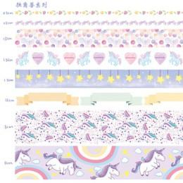 10 sztuk/partia Ocean Stars Wisteria kwiatowy uroczy papier maskująca taśma washi zestaw japoński biurowe Kawaii Scrapbooking do