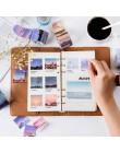 Nowy fantastyczny znaczek podróżny taśma Washi DIY ozdobny album notatnik naklejka taśma maskująca biuro szkoła papiernicze