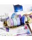 NOVERTY fantastyczna gwiazda Rainbow Washi taśma maskująca pamiętnik DIY dekoracje naklejki do scrapbookingu taśma dekoracyjna p