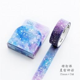 Różne kwiatowe taśmy washi Tape DIY dekoracyjne maskowanie taśma klejąca do scrapbookingu i ozdoba do telefonu komórkowego