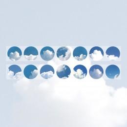 Mr.Paper 6 wzory piękne błękitne niebo Nightfall kreatywny Bullet Journaling taśmy washi Scrapbooking DIY Decaration taśmy masku