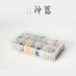 15 przegródek wyczyść rzemiosło organizator schowek na taśmy Washi dostaw sztuki i naklejki papiernicze