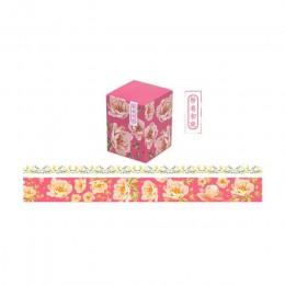 2 sztuk/partia chiński element złota taśmy washi Tape zestaw naklejki scrapbooking etykiety taśmy maskujące szkolne materiały bi