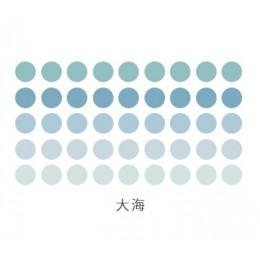 336 sztuk/partia w kolorowe kropki Washi taśma klejąca DIY planista taśma klejąca taśmy Bullet Journal dostarcza Kawaii